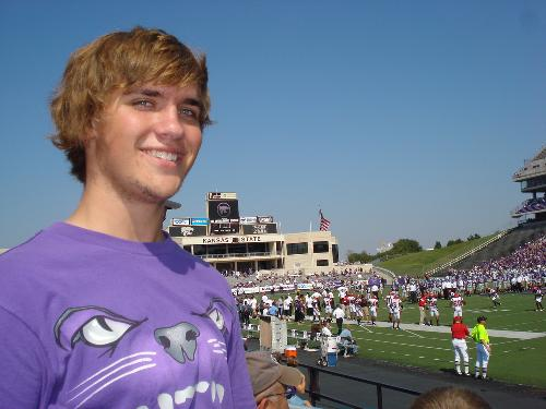 Doug finished Junior Year at Kansas State University May 2010 Majoring in Business and Marketing.  EMAW!