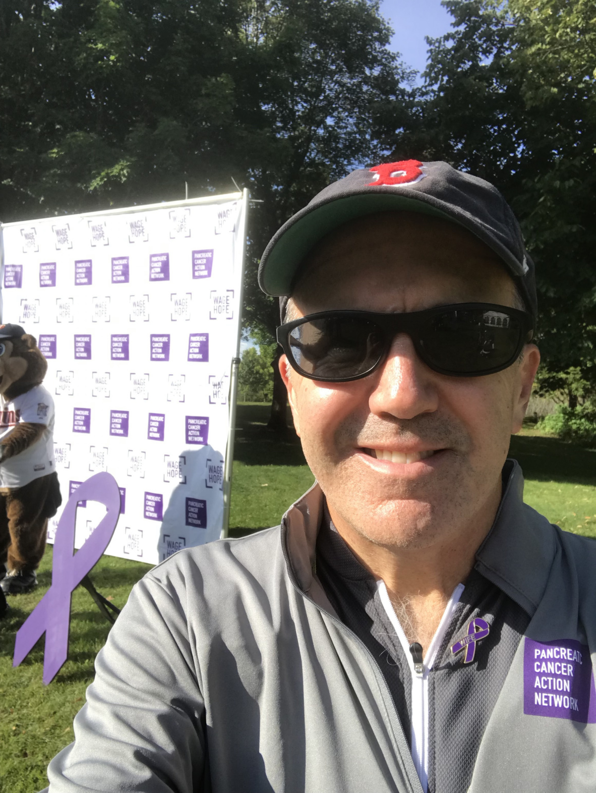 Facebook photo after the PanCan ride.
