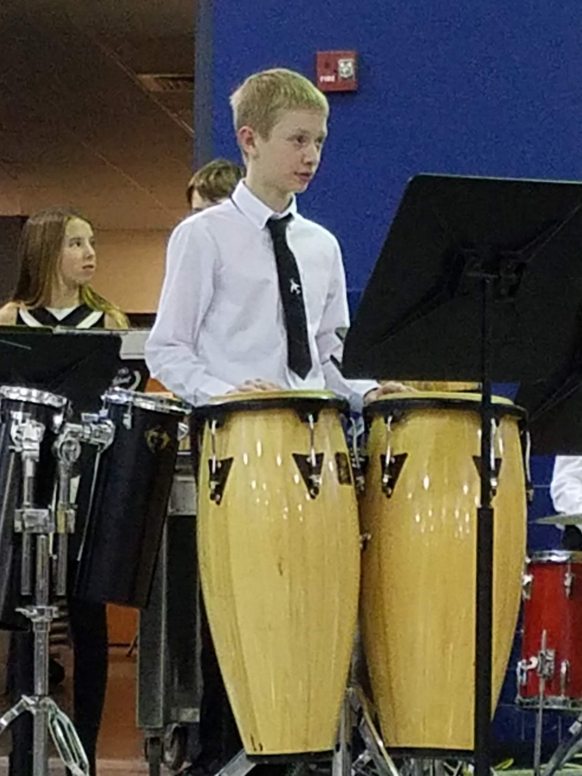 Day minus 1: Jazz Band Performance (3/5/19)