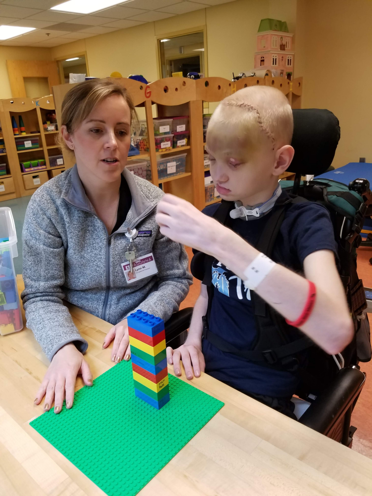 May 2019: Rebuilding life, one Lego at a time