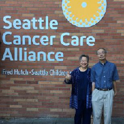"Our 1st visit to Cancer Care Alliance was positive: yes M has Stage 4 Lung Cancer but it's ""Non Small Cell Lung Cancer"" (NSCLC) - hopefully target markers can treat orally with very expensive pills! 9/4/18"