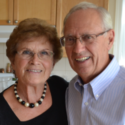 Mom and Dad at their 50th wedding anniversary celebration.