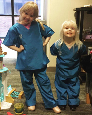 Nurse Grace and Nurse Clara are ready to help!