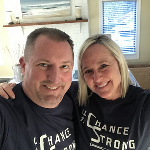Kirk and Laura Lynn repping in Maryland. As Steeler fans, they are going have to be #ChanceStrong during the 2019 season.