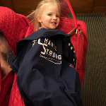 The Murphy family of New York shows the multi-purpose aspect of the #ChanceStrong tees. It's a shirt! It's blanket! It's #ChanceStrong. And please support the Murphy family by using the NBCSN sports predictor app powered by BoomFantasy to guess the scores of tomorrow's Premiere League games. It's free to play and #ChanceStrong-approved. Stephen A. Murphy is BoomFantasy CEO!