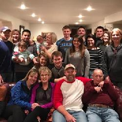 WONDERFUL FAMILY GET TOGETHER, MANY PRAYERS FOR SWEET SHIRLEY!