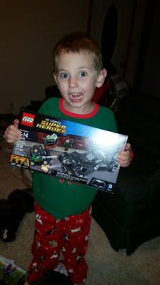 we love legos. You can never have too many lego sets