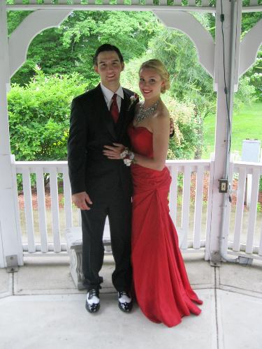 Chris and Caitlin - Sr. Prom