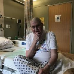Well  Ed is back in the hospital battling high blood sugar. Hopefully in a couple of days he will get it controlled and be home.  He is at Maine Med  so at least closer to home.  Please keep him in your prayers!!