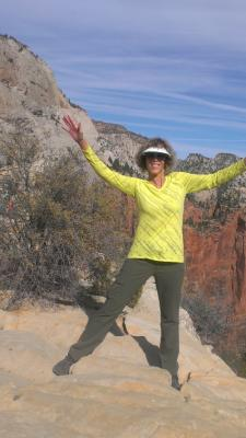 On top of Angel's Landing Oct 12, 2016