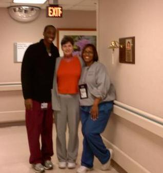 Dawn and Terrance took such great care of me.