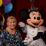 Photo Taken of Nana when she went to Disney World to visit Minnie and Mickey a few weeks ago.