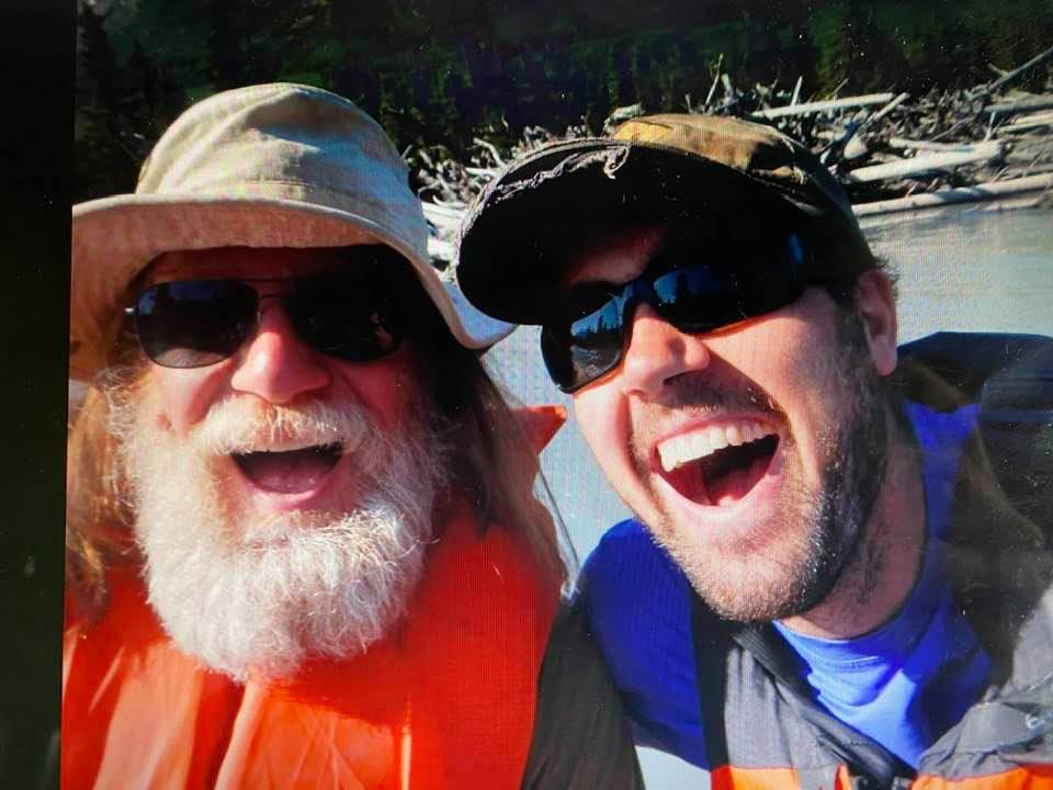 Will and Ben.  Probably on the Schneider's raft floating down the Eagle River?