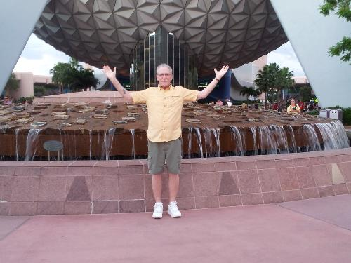 Steve at EPCOT Center