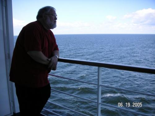 Steve loved the trip to Europe and the Baltic cruise!