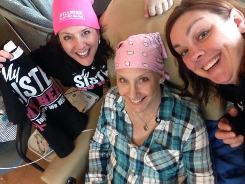 Chemo support, but we're missing Jeri.
