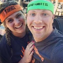 Another favorite day for Wes and Nicole: Tough Mudder Completion Date! Team Aftershock (based on Acts 4:31) consisted of Wes and Nicole and great friends, Kelsey and Jeffrey.