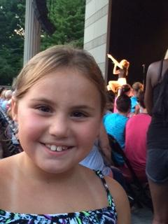 Casey's 1st concert EVER - Rachel Platten...with mom