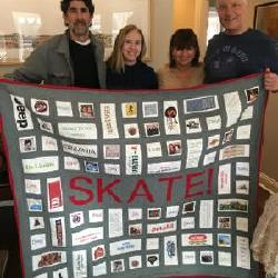 Incredible Quilt from High School Friends