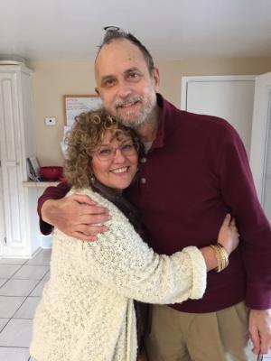 Dad and Karen