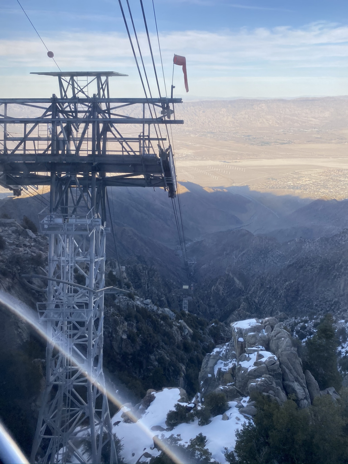 The view from the Palm Springs Aerial Tramway