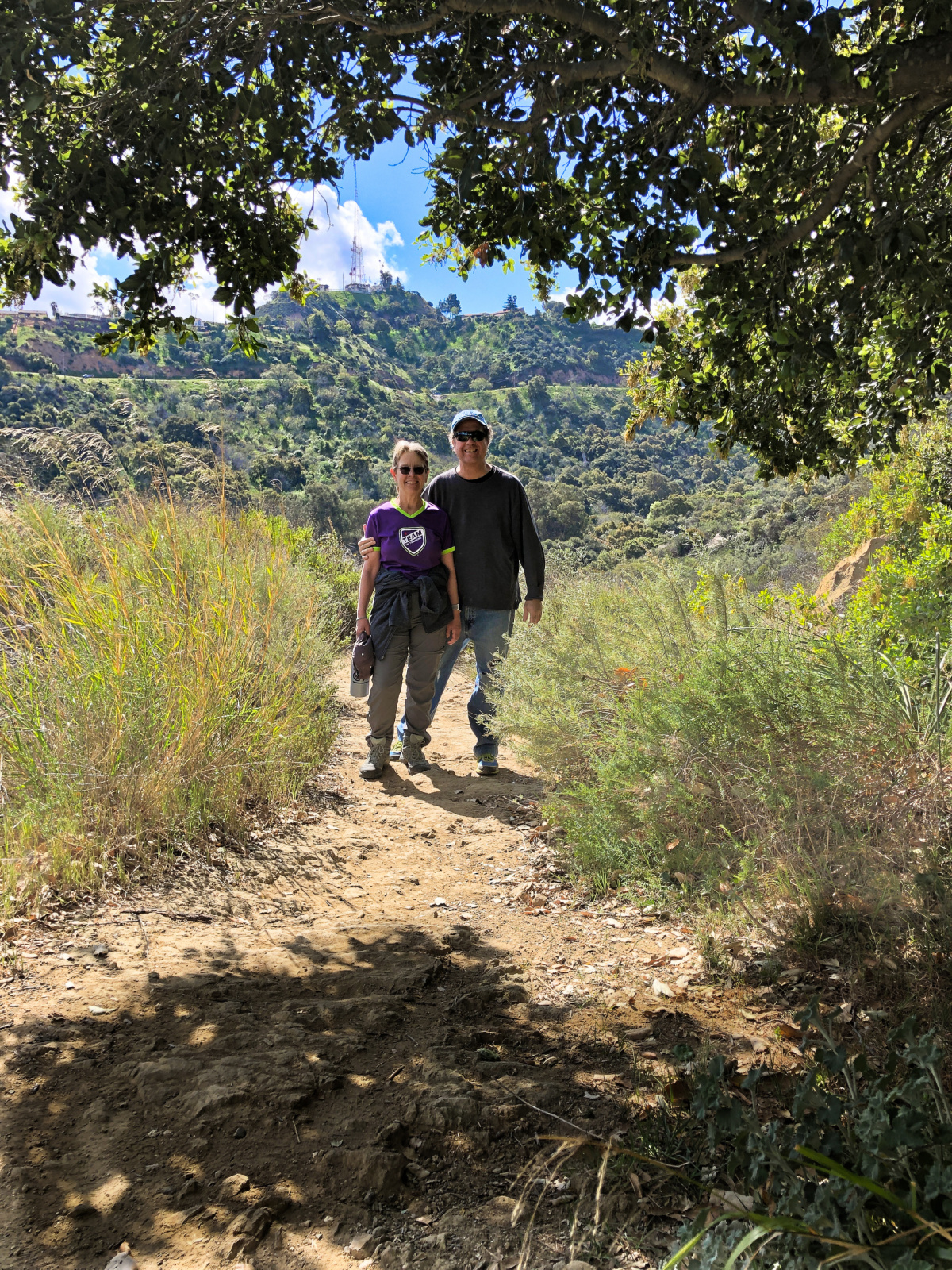 Hiking with Ben in Upper Fryman Canyon