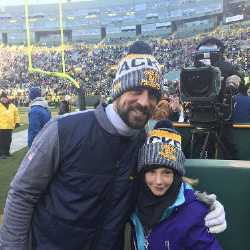 Hanging with Aaron Rodgers
