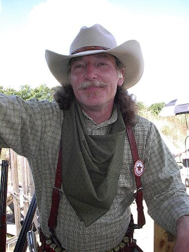 Steve as Adobe Gillis at SASS Cowboy Action Shooting event