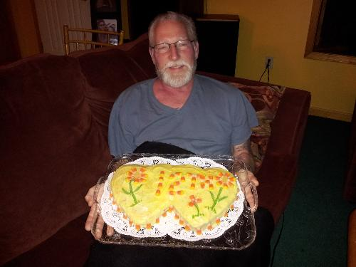 Steve on our 12th wedding anniversary in Sept 2012.