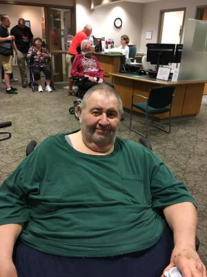 At the ALS clinic 05-17-17