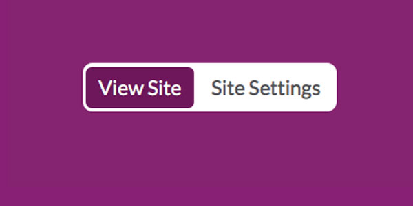 Site Settings button