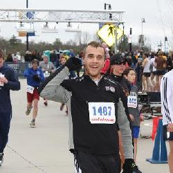 Finishing the Turkey Trot 5k in 21 minutes!!!