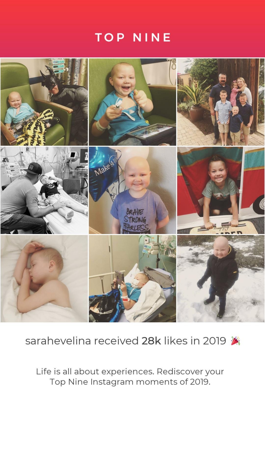 The top nine photos from Instagram. What a year it has been!