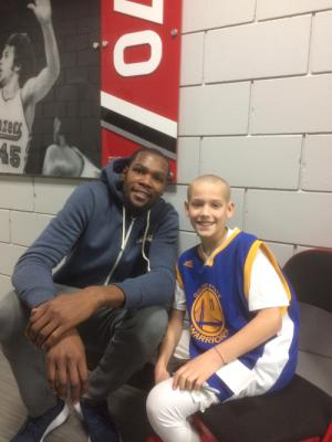 Asher and Kevin Durant