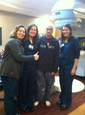 The chemo/radiation team.