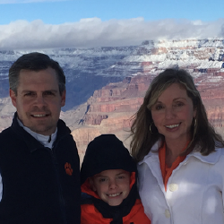 Grand Canyon during our Tigers' National Championship Run in January of 2016
