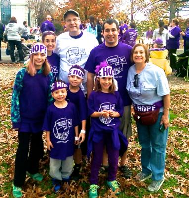"""Fred's Fans"" @ PurpleStride Philly 2015"