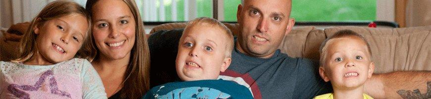 Gavin goes back to school after treatment for a brain tumor
