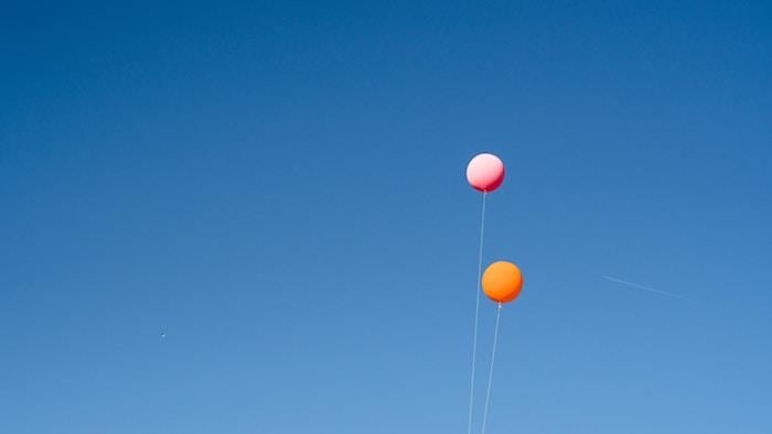 release balloons as a way to remember someone who has passed