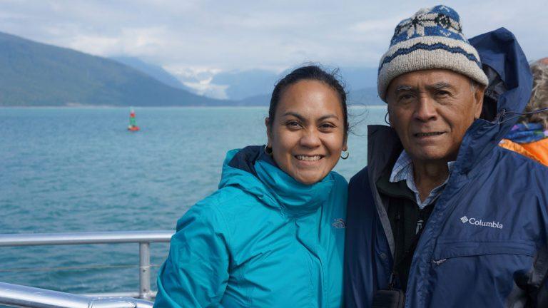Liwanag Ojala and her Dad