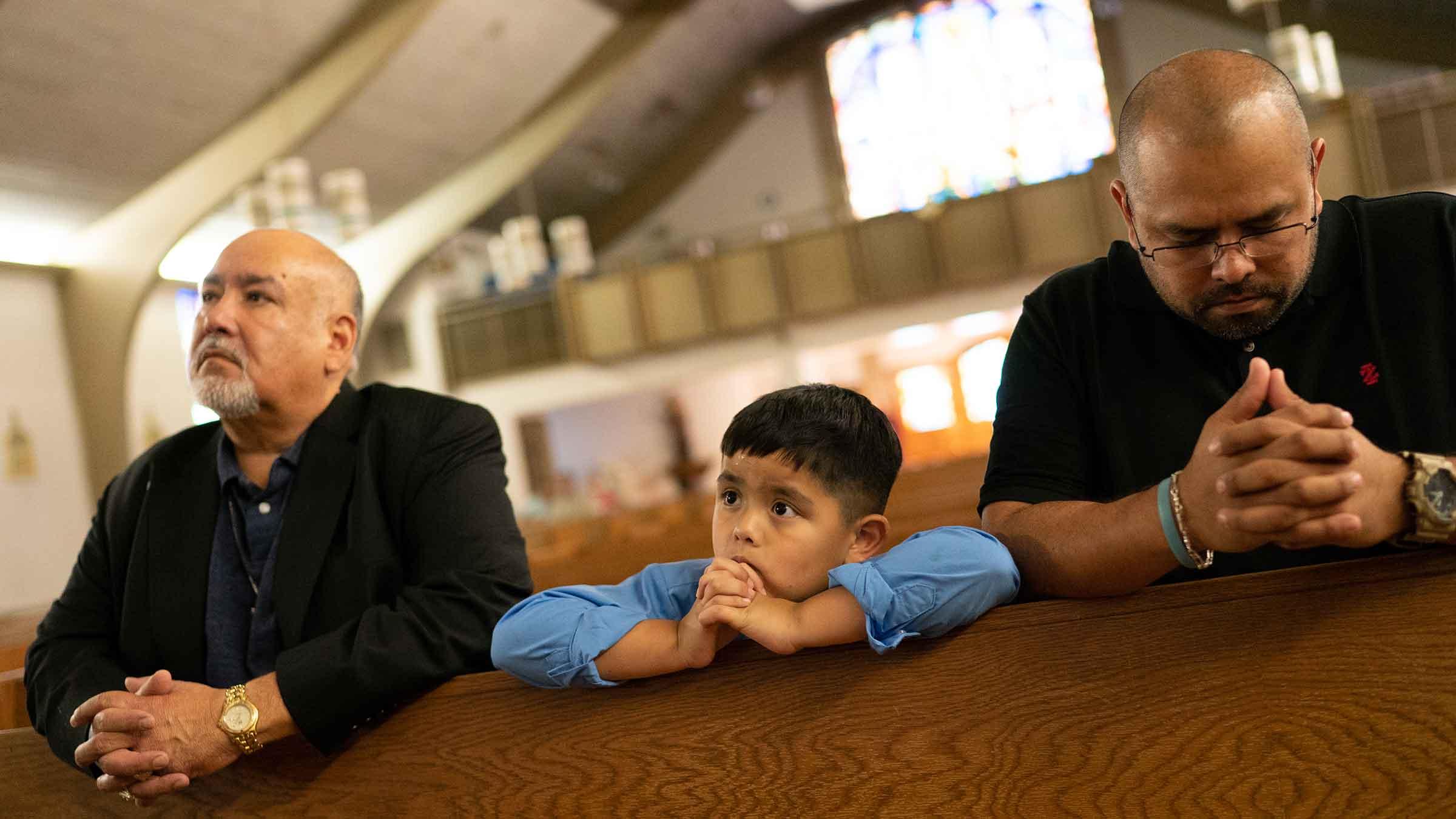 Martinez Family Praying