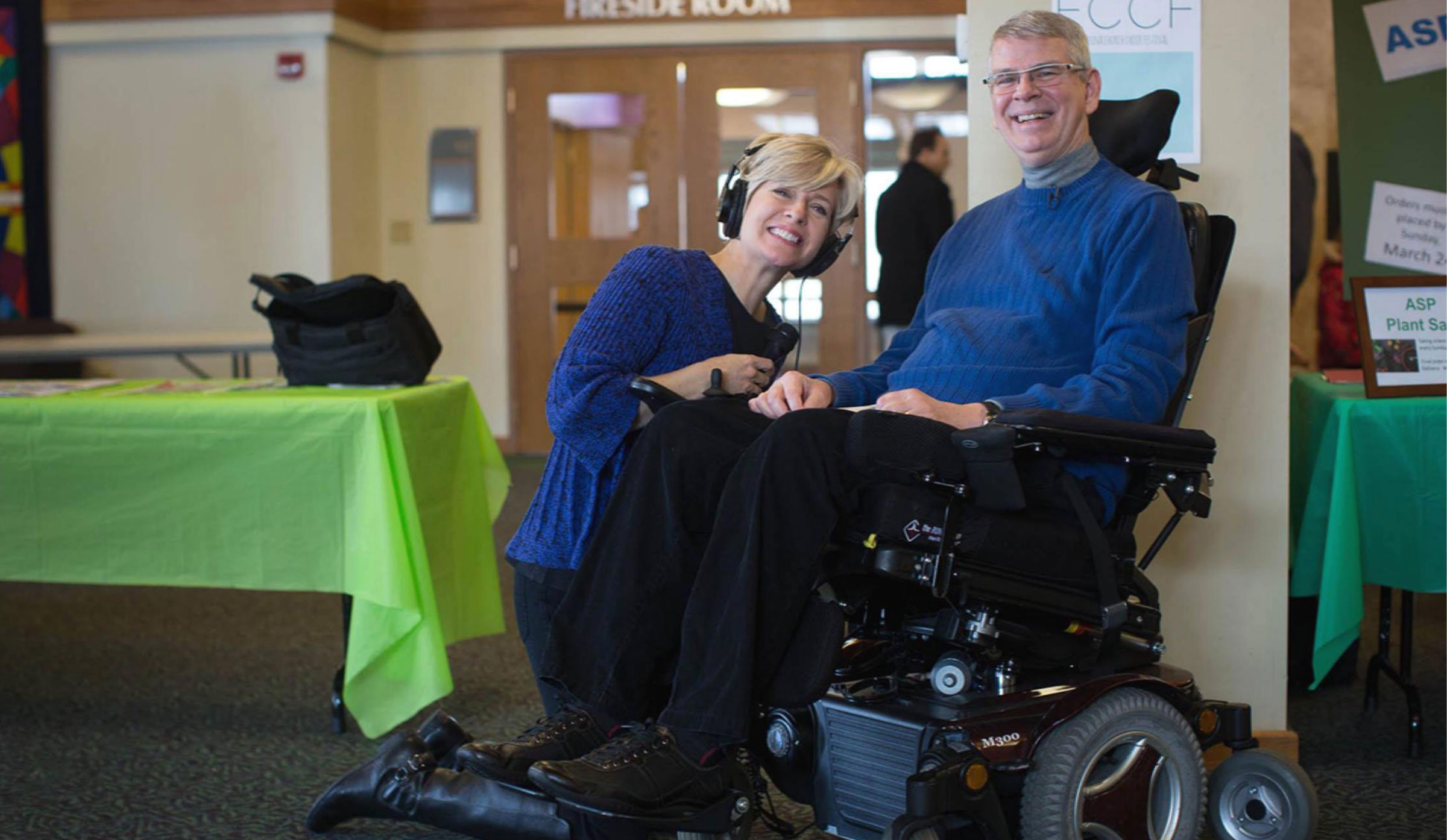 Cathy Wurzer and Bruce Kramer